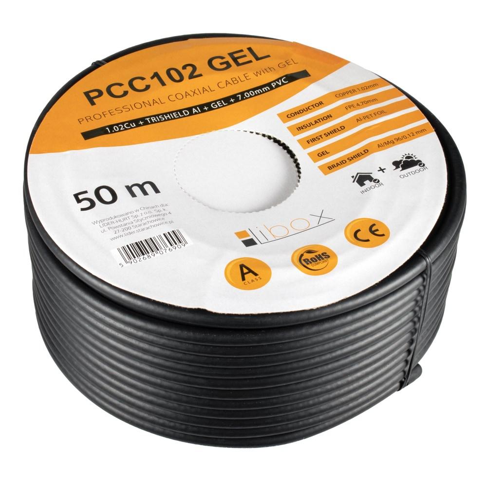 Kabel koncentryczny PCC102 żel 50m LIBOX